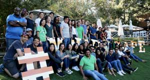 Tala employees group photo