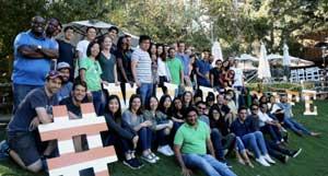 Tala employees group photo